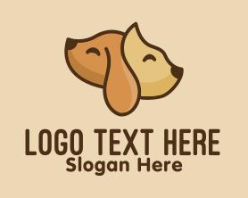 Puppy - Cat & Dog Pets logo design