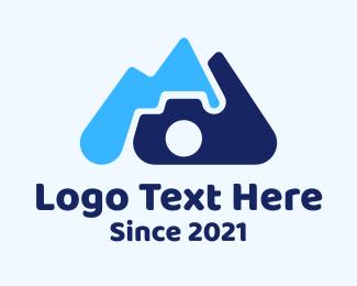Hills - Hill Landscape Photography logo design