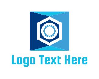 Safe - Blue Safe logo design