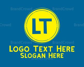 India - India Font logo design