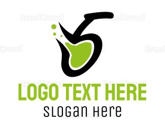 Toxic - Toxic Number 5 logo design