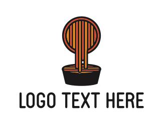 Dish - Pasta Dish logo design