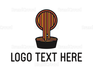 Food Truck - Pasta Dish logo design
