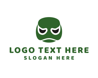 Tortoise - Turtle Face logo design
