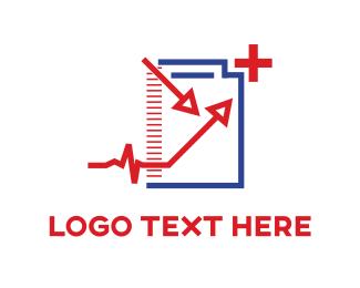 Prescription - Medical Arrows logo design