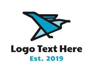Shipyard - Blue Seagull logo design