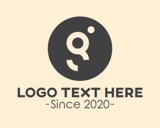 Trading - Circle Dot Letter G logo design