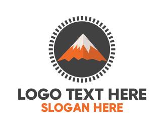 Outdoor - Orange Tail Peak logo design
