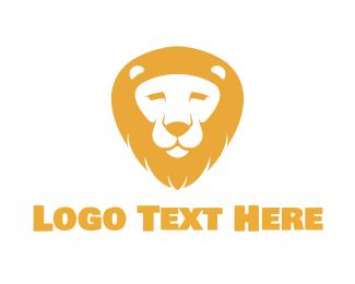 Mane - Lion Face logo design