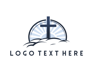 Faith - Chistian Heaven logo design