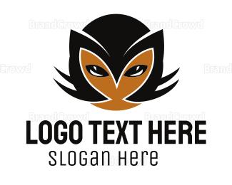 Pictorial - Cat Face logo design