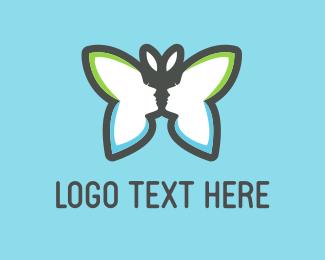 Dance - Beauty Butterfly logo design