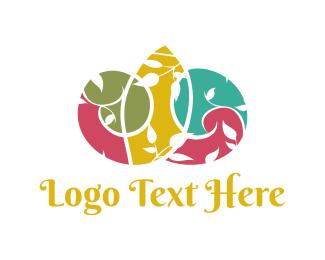Garden - Colorful Garden logo design