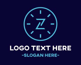 Time - Time Zone logo design