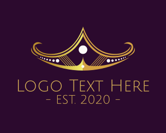 Golden Tiara Coronet Logo