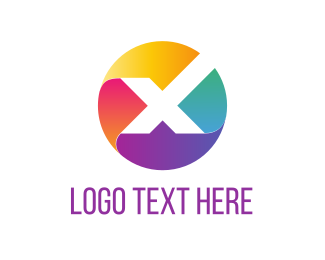 Corporate - X Circle logo design