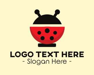 Ladybug - Modern Ladybug logo design