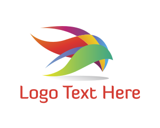 Petal - Colorful Plumage logo design
