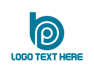 Icon - B & P logo design