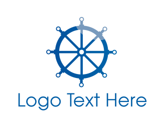 Navy Blue - Wheel Technology logo design
