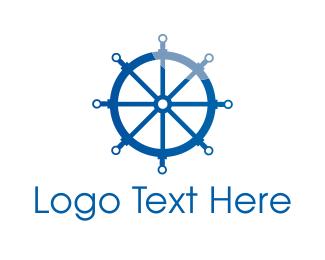 Wireframe - Wheel Technology logo design