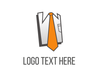 T-shirt - Orange Tie logo design