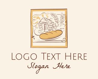 Bakery - Vintage Bakery  logo design
