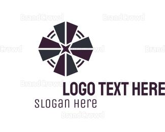 Austrian - Black Cross  logo design