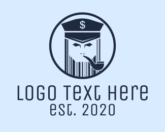 Captain - Barcode Captain logo design