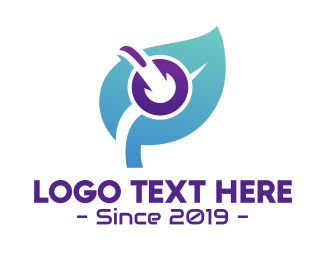 Interview - Music & Spa Leaf logo design