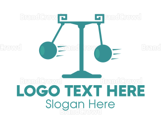 Lawyer - Pendulum Law logo design