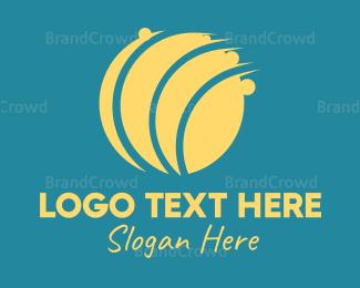 Crowd - Colorful Crowd Circle logo design