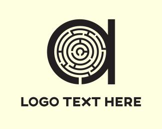 Ai - A Maze logo design