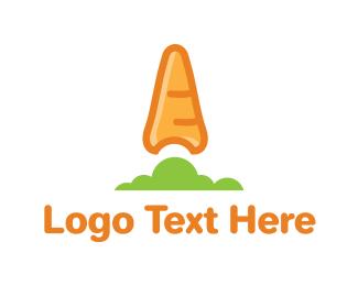 Organic Carrot Logo