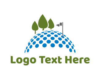 Golf Tournament - Golf Course logo design