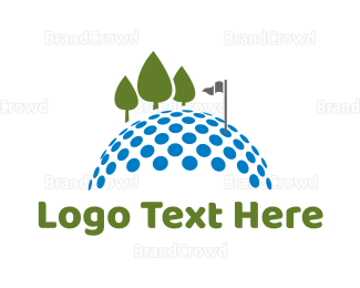 Swing - Golf Course logo design