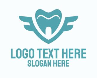 Tooth - Tooth Emblem logo design