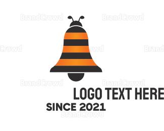 Bell - Bee Bell logo design