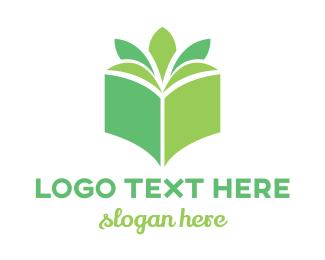 Wordpress - Book Plant logo design