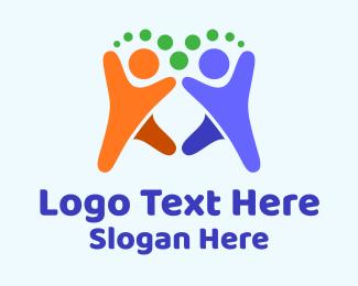 Kids - Kids Playing Charity logo design