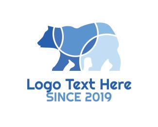 """Circular Bear"" by LogoBrainstorm"