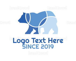 Wildlife - Circular Bear logo design