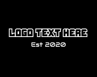 Video Game - Modern Game logo design