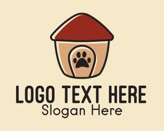 Dog House - Pet Dog House  logo design