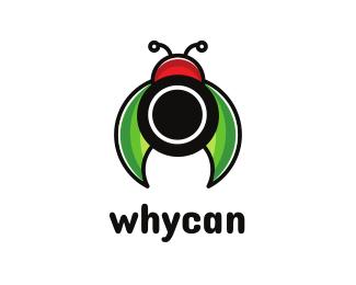Bug Lady Bug Lens logo design