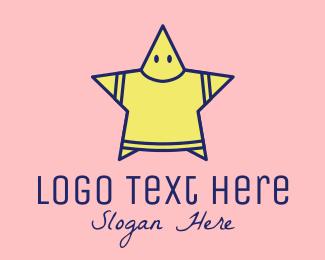 T-shirt - Fashion Star logo design