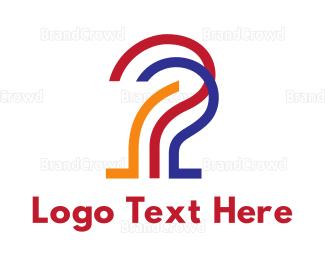 Activity - Multi-Colored Question Mark logo design