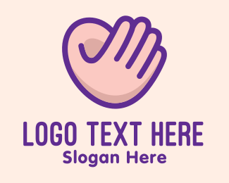 Language - Hand Ear Sign Language  logo design
