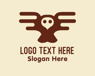 Red Owl - Brown Owl logo design