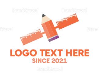 Satellite - Satellite Art logo design